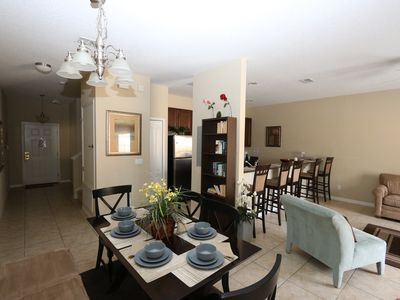 Photo for Great 4bd Townhome in Paradise Palms! Great Rates, minutes from Disney!