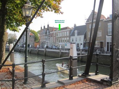 Photo for All Exclusive Riverview Apartment (4-5p) in historic Dordrecht