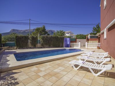 Photo for FERNANDO XII, Cozy villa in Calpe, with WIFI