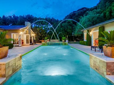 Photo for ~4,000sf Estate on 1/2 acre | Pool + Pool House | Walk to Beach