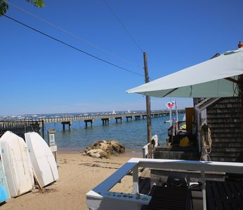 Photo for 2 Bed waterfront apartment with Private Deck on West End beach