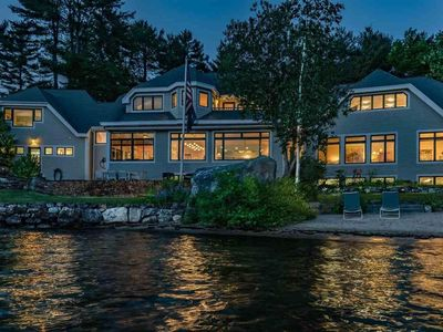Photo for 5,500 Sq Ft Home On LAKE WINNIPESAUKEE *SLEEPS 14, Boat House, 400ft WATERFRONT*