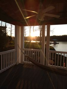 Photo for GORGEOUS 1 LEVEL LAKE ESCAPE!ALL NEW FURNISHINGS!8FLAT SCREEN SMART TVS/POOL&SPA