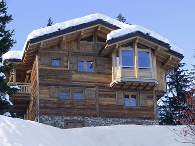 Photo for New chalet with fully prestations in Courchevel