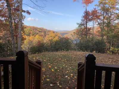 Photo for Fall is Beautiful in Gatlinburg Private 3 bdr Cabin with Fire Pit & Hot tub!!