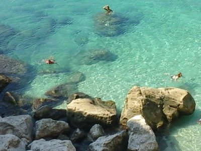 Photo for Large room with private bathroom in the most beautiful sea of Salento 1
