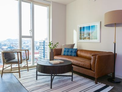 Photo for Sonder | 9th Apartments | Bright 1BR + Gym