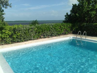 Professionally maintained ocean-front pool and landscaping.