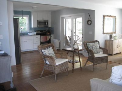 Photo for Comfortable Home and Separate Cottage Walking Distance to the Water