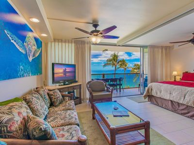 Photo for Picture Perfect Oceanfront Condo at Mana Kai Resort