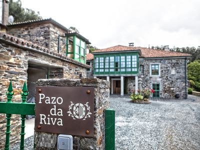 Photo for Detached house in Pazo Gallego near the beach