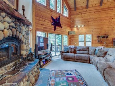 Photo for Spacious mountain home w/ shared pool & foosball - near slopes, golf, and lake!
