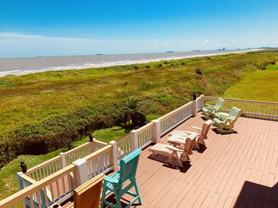 Photo for Biscayne Blue Paradise - BEACH FRONT - LARGE DECK