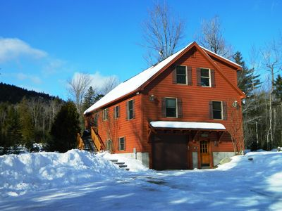 Photo for Well Maintained log home , 2 Miles from Sunday River Ski Resort