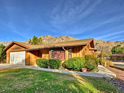 Photo for Kernville Home in Great Location w/ Views & Patio!