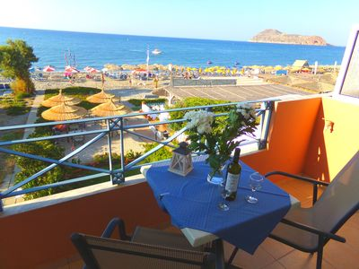 Photo for The best sea-view in Platanias