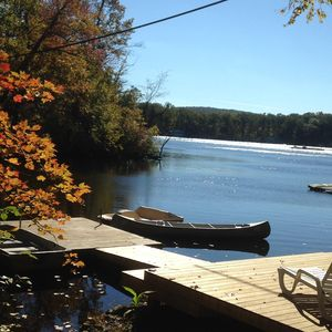 Enjoy a boat ride by canoe, rowboat, pedal boat, kayak or even paddle board!