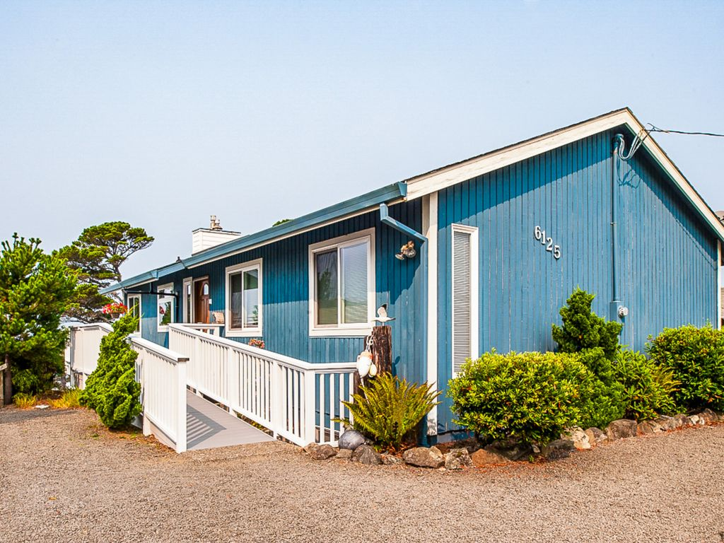 Gleneden Beach 4br Oceanfront Direct Beac Vrbo
