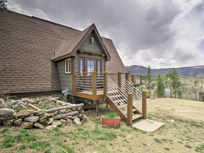 Photo for Rustic Home w/Fire Pit & Mtn Views -30 Min to RMNP