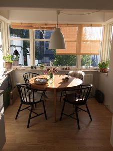 Frederiksberg beautiful apartment in quiet area with balcony and elevator.
