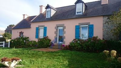 Photo for charming house on peninsula camaret Sea island of crozon 3 bedrooms