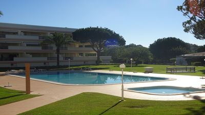 Photo for T1 in Vilamoura in private condominium with garden and pool