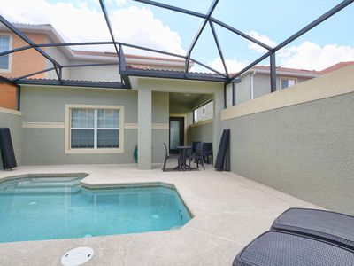 Photo for Beautiful townhome*Private Pool*4 miles to Disney*Communal pools slides-wifi