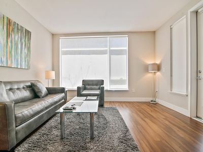 Photo for Private & Spacious 2BR | Full Kitchen & Laundry | Downtown Mountain View
