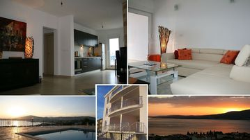 Luxury Apartment with Pool and and fabulous Sea Views on Ciovo near Trogir