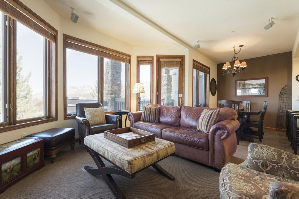 Ski In Ski Out 2 Bedroom Townhome Above Eagle Lodge With Modern