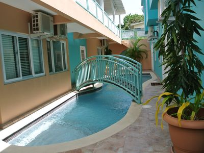 Photo for 1BR Condo - In The Heart Of Crown Point Tobago. Best Beaches Around The Corner