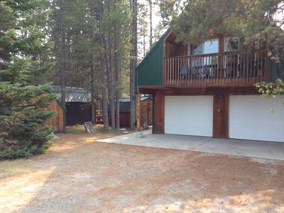 Photo for Three cabins for the price of one near West Yellowstone in Island Park!