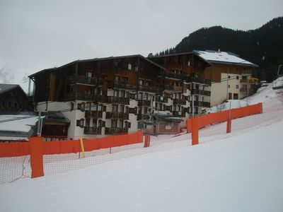 Photo for Apartment For 4 People, Ski In & Ski Out In Valfrejus