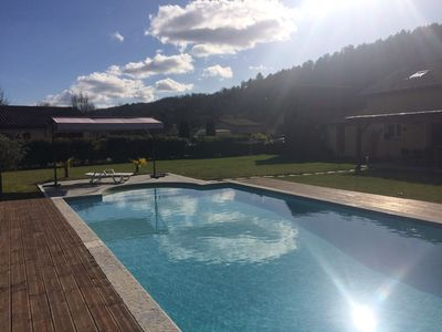 Photo for Holidays in the heart of castles, private pool