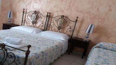 Photo for Mediterraneo B & B - Triple sand bedroom with Balcony