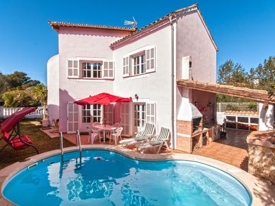 Photo for PINK HOUSE WITH POOL NEAR BAHIA ALCUDIA