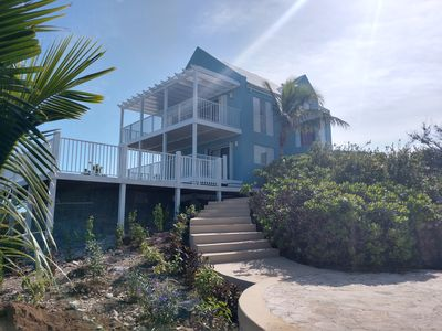 Photo for Villa View - Sapodilla Beach and Chalk Sound (Amazing Views)