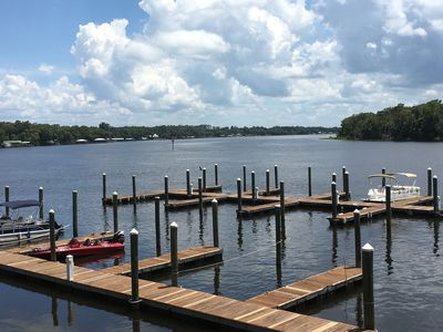 Photo for 2BR/2BA Condo on the St Johns River-Welaka Resort Living