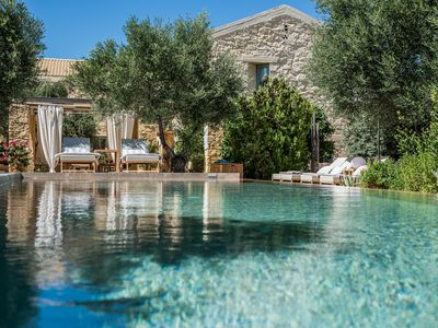 Photo for Villa Dimi with  Private Heated Pool , near Sandy Beach Kalathas Chania Crete .