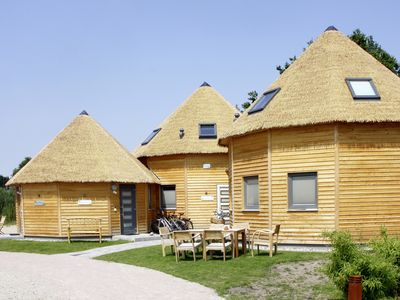 Photo for Original lodges for up to 6 people, just 200 meters from the Baltic Sea beach