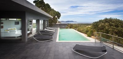 Photo for Modern and luxurious villa located in Calvi