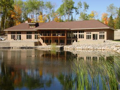 Photo for CLUBHOUSE LAKE Home! Sandy Beach*Ping Pong/Pool Table*Deck&BAR*Wifi*Kayaks&Canoe