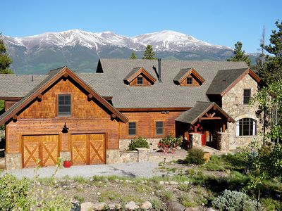 Photo for The Wolf Den: Unforgettable Mt. Elbert + Twin Lakes Views on 6 Quiet Acres