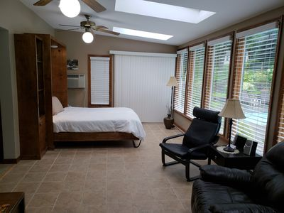 Beautiful apartment in rural Redding surrounded by New Enland foliage