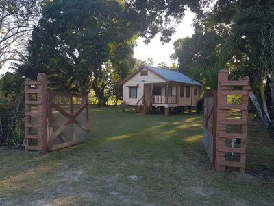 Photo for 2BR House Vacation Rental in Crooked Tree, Belize District