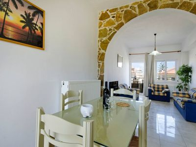 Photo for private pool. 5 minutes walk from restaurants-cafes, mini-market, sea !