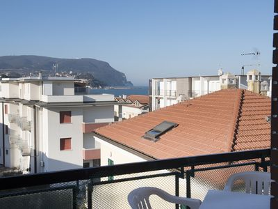 Photo for M113 - Marcelli, three-room apartment facing the sea with terrace 8