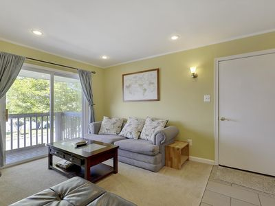 Photo for Cute Canalfront Condo - Wi-Fi & Pool - 2 Blocks to Beach!