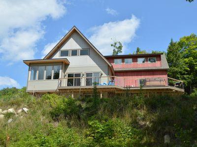 Photo for Sunday River, 5 BR, Sleeps 16+, Mntn Views, Hot Tub, Game Room, Dogs Welcome!