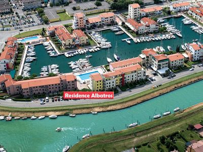 Photo for Apartment Residence Albatros (CAO350) in Caorle - 4 persons, 1 bedrooms